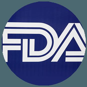Circular FDA logo